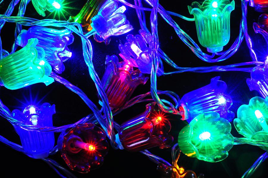 LED Lichter für den Weihnachtsbaum