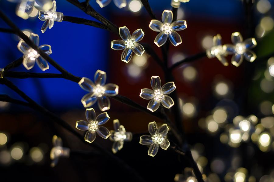 LED Lichternetz