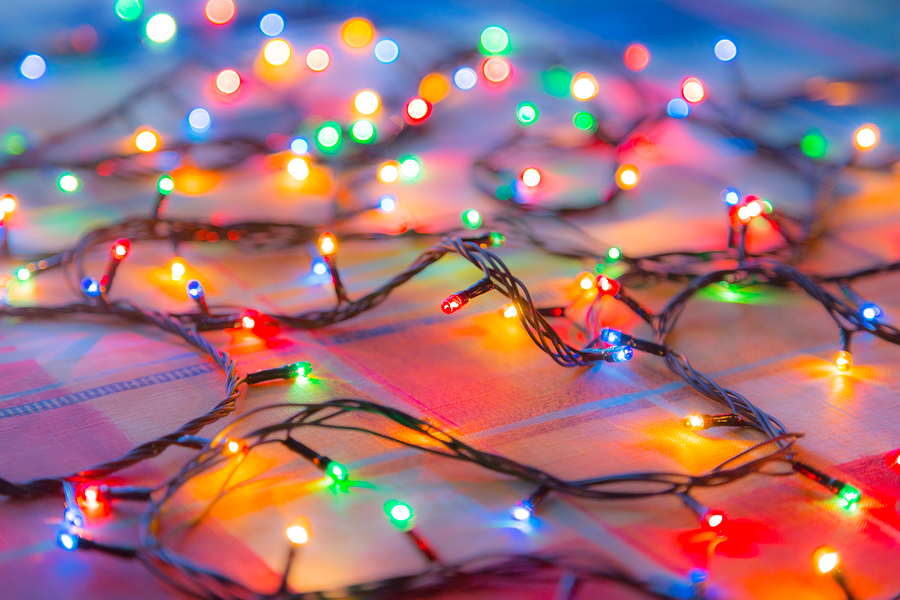 Lichterkette aus LEDs